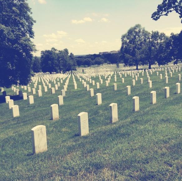 The vastness of Arlington is startling