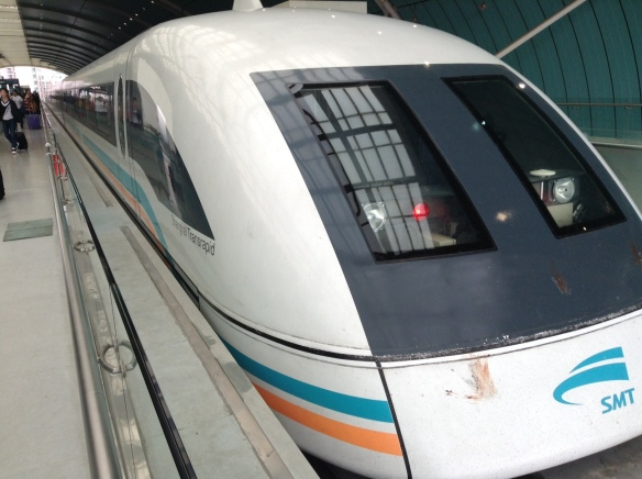 Quick of the mark - Shanghai's Maglev train