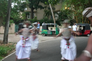 Drums, dancing and tuktuks